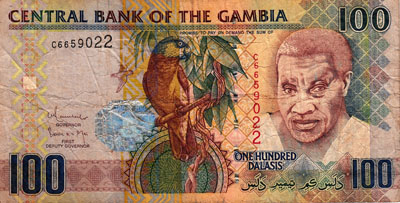 banknote senegal
